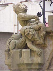Heinzelmännchen am Kölner Heinzelmännchenbrunnen