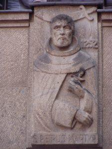 Der heilige Petrus von Mailand